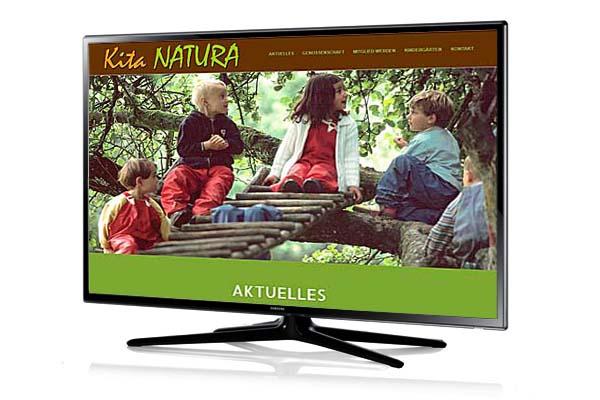 Kita Natura eG - Webauftritt, Sichtbarkeit und Kommunikation